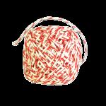 Шпагат для колбас хб бело-красный 50 м