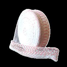 Формовочная сетка бело-красная 100 мм 50 м